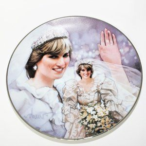 Fairy-tale Princess by Drew Art deco plate